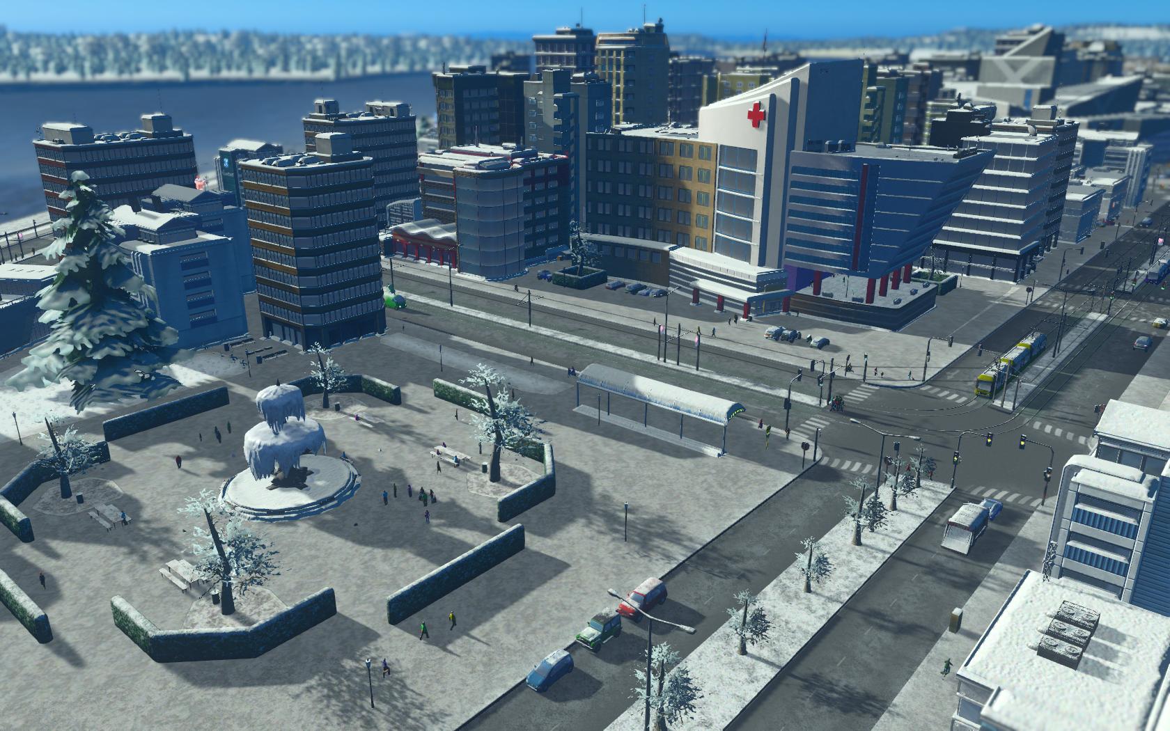 Fontana Ghiacciata, tram e palina per i tax